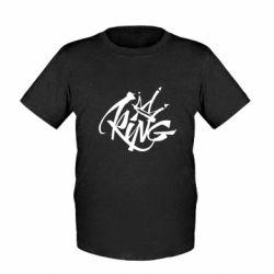 Детская футболка Graffiti king