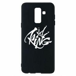 Чехол для Samsung A6+ 2018 Graffiti king