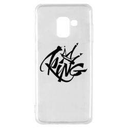 Чехол для Samsung A8 2018 Graffiti king