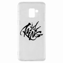 Чехол для Samsung A8+ 2018 Graffiti king