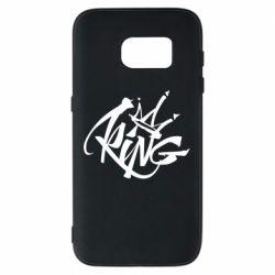 Чехол для Samsung S7 Graffiti king