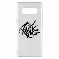 Чехол для Samsung Note 8 Graffiti king