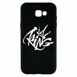 Чехол для Samsung A7 2017 Graffiti king