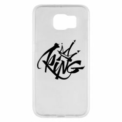 Чехол для Samsung S6 Graffiti king