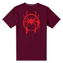 Чоловіча стрейчева футболка Graffiti Spider Man Logo