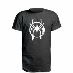 Подовжена футболка Graffiti Spider Man Logo