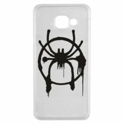 Чохол для Samsung A3 2016 Graffiti Spider Man Logo