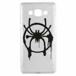 Чохол для Samsung A5 2015 Graffiti Spider Man Logo