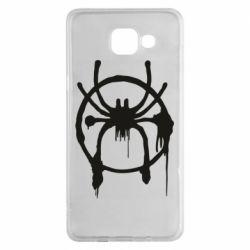 Чохол для Samsung A5 2016 Graffiti Spider Man Logo