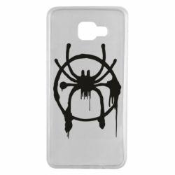 Чохол для Samsung A7 2016 Graffiti Spider Man Logo