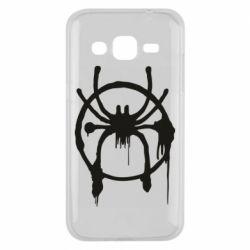Чохол для Samsung J2 2015 Graffiti Spider Man Logo