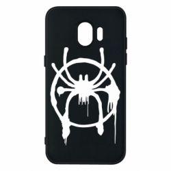 Чохол для Samsung J2 2018 Graffiti Spider Man Logo