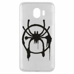 Чохол для Samsung J4 Graffiti Spider Man Logo