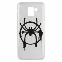 Чохол для Samsung J6 Graffiti Spider Man Logo