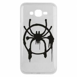 Чохол для Samsung J7 2015 Graffiti Spider Man Logo