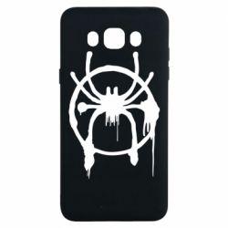Чохол для Samsung J7 2016 Graffiti Spider Man Logo