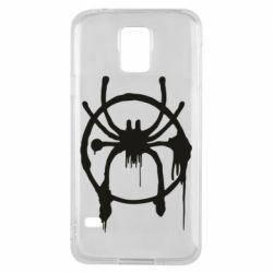Чохол для Samsung S5 Graffiti Spider Man Logo