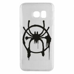 Чохол для Samsung S6 EDGE Graffiti Spider Man Logo