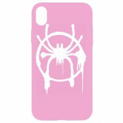 Чохол для iPhone XR Graffiti Spider Man Logo