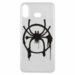 Чохол для Samsung A6s Graffiti Spider Man Logo