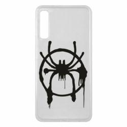 Чохол для Samsung A7 2018 Graffiti Spider Man Logo