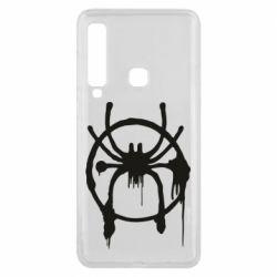 Чохол для Samsung A9 2018 Graffiti Spider Man Logo