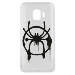 Чохол для Samsung J2 Core Graffiti Spider Man Logo
