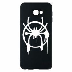 Чохол для Samsung J4 Plus 2018 Graffiti Spider Man Logo