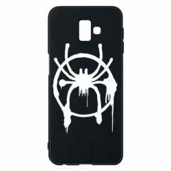 Чохол для Samsung J6 Plus 2018 Graffiti Spider Man Logo