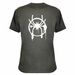 Камуфляжна футболка Graffiti Spider Man Logo