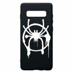 Чохол для Samsung S10+ Graffiti Spider Man Logo