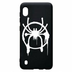 Чохол для Samsung A10 Graffiti Spider Man Logo