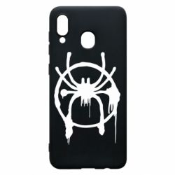 Чохол для Samsung A20 Graffiti Spider Man Logo