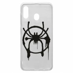 Чохол для Samsung A30 Graffiti Spider Man Logo