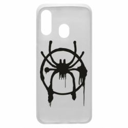 Чохол для Samsung A40 Graffiti Spider Man Logo