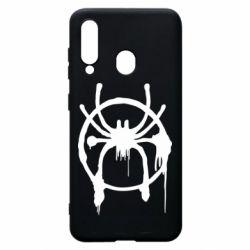 Чохол для Samsung A60 Graffiti Spider Man Logo