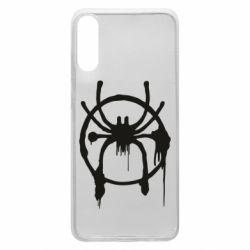 Чохол для Samsung A70 Graffiti Spider Man Logo