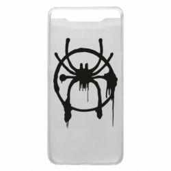 Чохол для Samsung A80 Graffiti Spider Man Logo