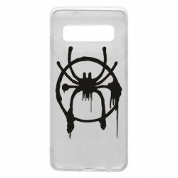 Чохол для Samsung S10 Graffiti Spider Man Logo