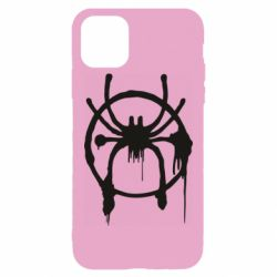 Чохол для iPhone 11 Pro Max Graffiti Spider Man Logo