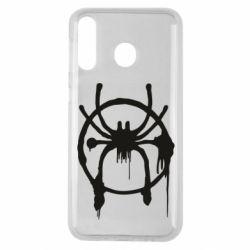 Чохол для Samsung M30 Graffiti Spider Man Logo