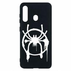 Чохол для Samsung M40 Graffiti Spider Man Logo