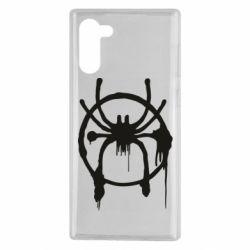 Чохол для Samsung Note 10 Graffiti Spider Man Logo