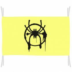 Прапор Graffiti Spider Man Logo