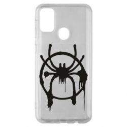 Чохол для Samsung M30s Graffiti Spider Man Logo