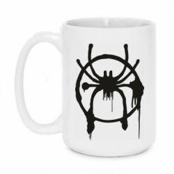 Кружка 420ml Graffiti Spider Man Logo