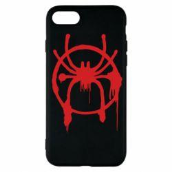 Чохол для iPhone 7 Graffiti Spider Man Logo