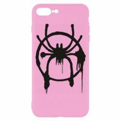 Чохол для iPhone 7 Plus Graffiti Spider Man Logo