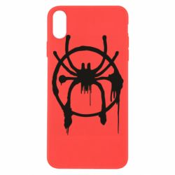 Чохол для iPhone X/Xs Graffiti Spider Man Logo