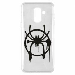 Чохол для Samsung A6+ 2018 Graffiti Spider Man Logo